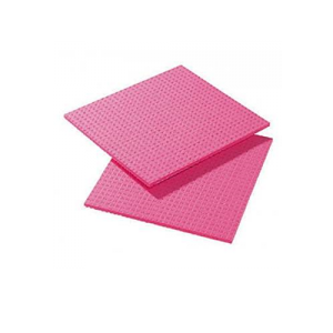 Pink Cellulose Sponge Cloth