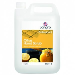 Jangro Citrus Hand Scrub, Heavy duty with pumice