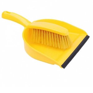 Dustpan & Brush Soft Set